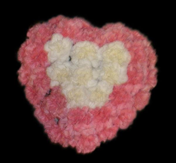 corazon-claveles