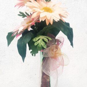 florero artificial